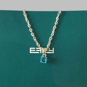 EFFY AQUA BLUE NECKLACE